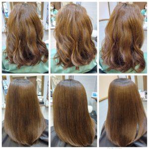 大野城髪質改善専門美容室Lien hair design(リアン ヘアー デザイン)『美髪チャージプレミアム美肌カラー』のお客様です(^^)  毎月の白髪染めによるダメージ&梅雨の湿気での広がりやうねりで、お悩みのお客様の髪もリアンの『美髪チャージプレミアム美肌カラー』なら、こんなに艶々サラサラに仕上がっちゃいます(о´∀`о)  『美髪チャージプレミアムカラー』なら1回目より2回目、2回目より3回目と繰り返せば繰り返すほど艶々サラサラに仕上がっちゃいます(^-^)   こちらのお客様も、毛先部分の枝毛も2回、3回とやればやるほどに修復していけると思います(^ー^)  もし他店での施術失敗で毛先がビリビリになってしまわれたお客様も諦めずに1度、髪を見せていただけたらと思います( ^ω^ )  そして今、話題の『マイクロファインバブル』を使用することにより美髪チャージの力を120%まで引き上げてくれます(σ≧▽≦)σ  こちらのメニューは、こんな方にお薦め!   ・髪の毛のダメージが気になる ・カラーやブリーチをしている ・髪の毛を伸ばしたいが伸ばせない ・髪の毛がパサつく、引っかかりがある ・髪の毛のツヤがほしい  本気で髪の毛を良くしたい方必見!  月1回の施術いただくことをお薦めします(^_^)  新システムによりグレードアップした『美髪チャージプレミアムカラー』で さわればわかる!さわりたくなる髪を手に入れてみませんか(^^)   美髪チャージメニュー  美髪チャージプレミアムトリートメント ¥10000~  美髪チャージプレミアムカラー ¥18000~  美髪チャージプレミアムデジタルパーマ ¥24000~  美髪チャージプレミアム美革ストレート ¥27000 ~  梅雨の湿気でヘアスタイルが決まらなくてお悩みのお客様、リアンの美髪チャージで艶々サラサラな髪を手に入れてみませんか(^ー^)  大野城美容室Lien hair design(リアン ヘアー デザイン)2021年5月の定休日変更お知らせです(^-^)  2021年5月は24.31日にお休みをいただいております!  5月12日からの緊急事態宣言に伴い、リアンでは1日に施術させていただく人数制限、そして時短営業を実施させていただくことになりました! リアンに来ていただいているお客様のために、少しでも安心してご来店いただける環境を整えていけるように努力していきますので、何卒ご協力宜しくお願い致します( ^ω^ )  只今7月の上旬までご予約が大変込み合ってきております!  お早めのご予約宜しくお願い致しますm(_ _)m  「髪質改善」美容室 リアン ヘアーデザイン  福岡県大野城市中央2丁目1−13  tel:092-593-3339  ※完全マンツーマンサロンですので、 お電話の対応、施術、会計など 全てひとりで担当させていただいております。 そのため施術中はお電話が取れない場合がございます。 その際は折り返しご連絡をさせていただきます  #大野城 #大野城市 #春日市 #太宰府 #太宰府市 #筑紫野 #筑紫野市 #oggiotto #オッジィオット #ケラリファイン #ヴァリジョア #トキオインカラミ #トキオトリートメント #髪質改善 #美髪チャージ #美髪 #marbb #microbubblesystem #マイクロバブル #ヒト由来幹細胞培養液 #バイオプロポーザー