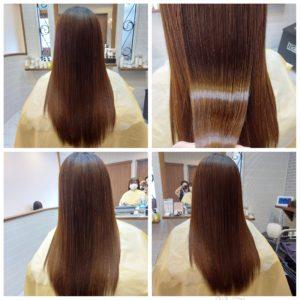 大野城髪質改善専門美容室Lien hair design(リアン ヘアー デザイン)『ヴァリジョアプレミアム美革ストレート』&『炭酸マイクロバブル』&『ヴァリジョアプレミアムトリートメント』のお客様です(^^)  毎月の白髪染め&癖による広がりやうねりを気にされていたお客様もリアンのヴァリジョアプレミアム美革ストレートなら、こんなに艶々サラサラに仕上がっちゃいます!  梅雨時期の湿気や髪のダメージでお悩みのお客様、Lien(リアン)hair designのヴァリジョアプレミアム美革ストレートでサラサラ艶々な髪に髪質改善しませんか( ^∀^)  大野城美容室Lien hair design(リアン ヘアー デザイン)2021年5月の定休日変更お知らせです(^-^)  2021年5月は31日にお休みをいただいております!  5月12日からの緊急事態宣言に伴い、リアンでは1日に施術させていただく人数制限、そして時短営業を実施させていただくことになりました! リアンに来ていただいているお客様のために、少しでも安心してご来店いただける環境を整えていけるように努力していきますので、何卒ご協力宜しくお願い致します( ^ω^ )  只今7月の月の上旬までご予約が大変込み合ってきております!  お早めのご予約宜しくお願い致しますm(_ _)m  「髪質改善」美容室 リアン ヘアーデザイン  福岡県大野城市中央2丁目1−13  tel:092-593-3339  ※完全マンツーマンサロンですので、 お電話の対応、施術、会計など 全てひとりで担当させていただいております。 そのため施術中はお電話が取れない場合がございます。 その際は折り返しご連絡をさせていただきます  #大野城 #大野城市 #春日市 #太宰府 #太宰府市 #筑紫野 #筑紫野市 #oggiotto #オッジィオット #ケラリファイン #ヴァリジョア #トキオインカラミ #トキオトリートメント #髪質改善 #美髪チャージ #美髪 #marbb #microbubblesystem #マイクロバブル #ヒト由来幹細胞培養液 #バイオプロポーザー #美革ストレート  #ビカクストレート