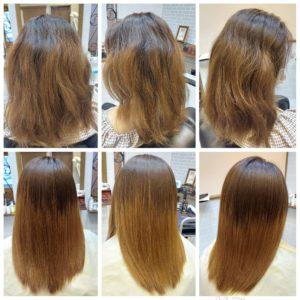 大野城髪質改善専門美容室Lien hair design(リアン ヘアー デザイン)『ヴァリジョアプレミアム美革ストレート』&『炭酸マイクロバブル』&『ヴァリジョアプレミアムトリートメント』のお客様です(^^)  リアンの『ヴァリジョアプレミアム美革ストレート』なら他店でのブリーチの繰り返しで右バックサイドの髪が完全に断毛した状態で縮毛矯正を断られたお客様の髪も、こんなに艶々サラサラに仕上がっちゃいます!  癖による広がりやうねり、髪のダメージでお悩みのお客様、Lien(リアン)hair designのヴァリジョアプレミアム美革ストレートでサラサラ艶々な髪に髪質改善しませんか( ^∀^)  大野城美容室Lien hair design(リアンヘアーデザイン)2021年8月の定休日のお知らせです!  2021年8月は30日に、お休みを頂いております😊  只今10月の中旬まで予約が大変込み合ってきおり、リアンに来ていただけるお客様を、お一人でも多く担当させていただければと思っておりますので、お早めのご予約宜しくお願い致します!  「髪質改善」美容室 リアン ヘアーデザイン  福岡県大野城市中央2丁目1−13  tel:092-593-3339  ※完全マンツーマンサロンですので、 お電話の対応、施術、会計など 全てひとりで担当させていただいております。 そのため施術中はお電話が取れない場合がございます。 その際は折り返しご連絡をさせていただきます  #大野城 #大野城市 #春日市 #太宰府 #太宰府市 #筑紫野 #筑紫野市 #oggiotto #オッジィオット #ケラリファイン #ヴァリジョア #トキオインカラミ #トキオトリートメント #髪質改善 #美髪チャージ #美髪 #marbb #microbubblesystem #マイクロバブル #美革ストレート #ビカクストレート